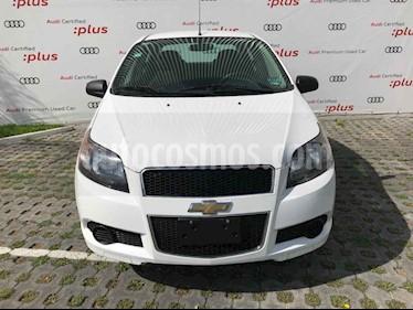 Chevrolet Aveo LT Plus usado (2016) color Blanco precio $127,010
