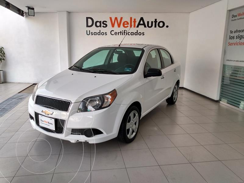 Foto Chevrolet Aveo LT usado (2016) color Blanco financiado en mensualidades(enganche $32,250 mensualidades desde $4,500)