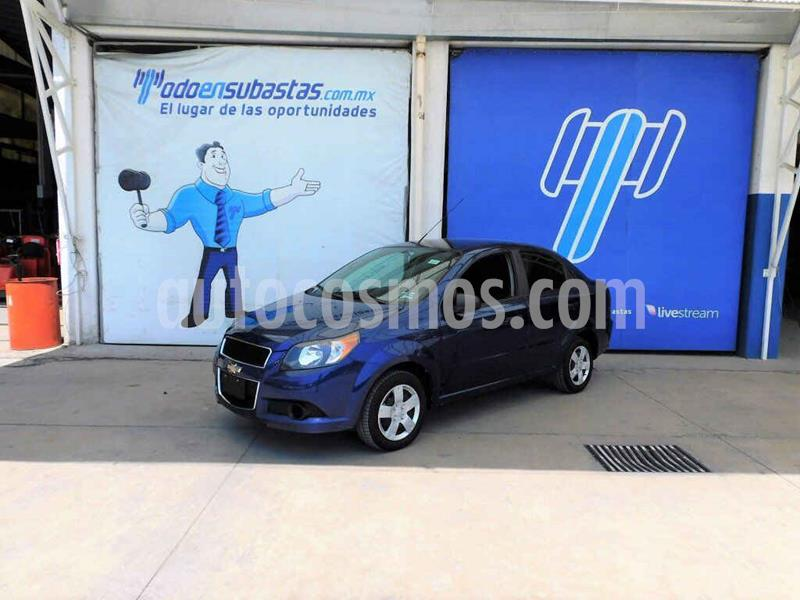 Chevrolet Aveo LS usado (2017) color Azul precio $50,000