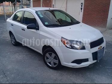 Chevrolet Aveo LT usado (2015) color Blanco precio $91,000