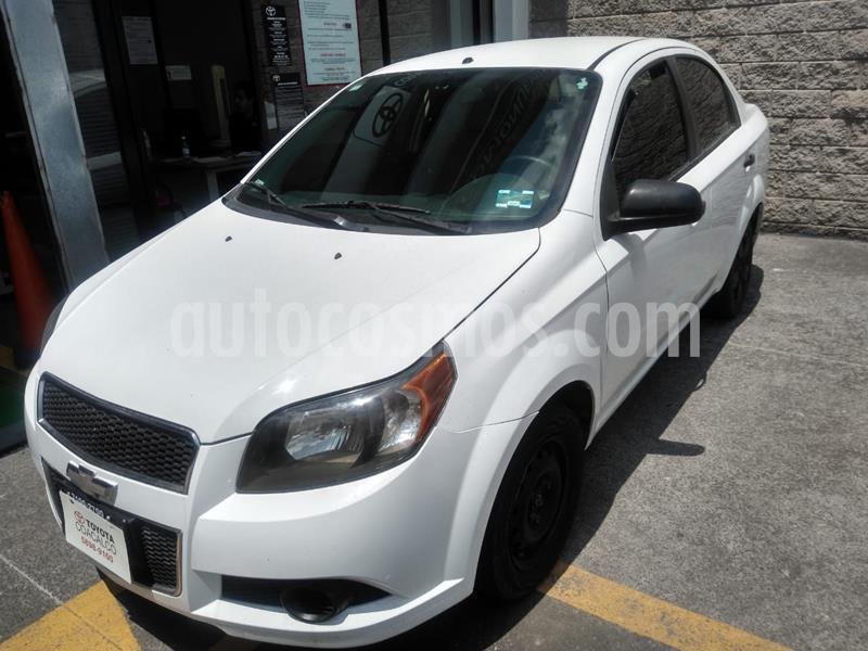 Chevrolet Aveo LS Aa usado (2015) color Blanco precio $95,000