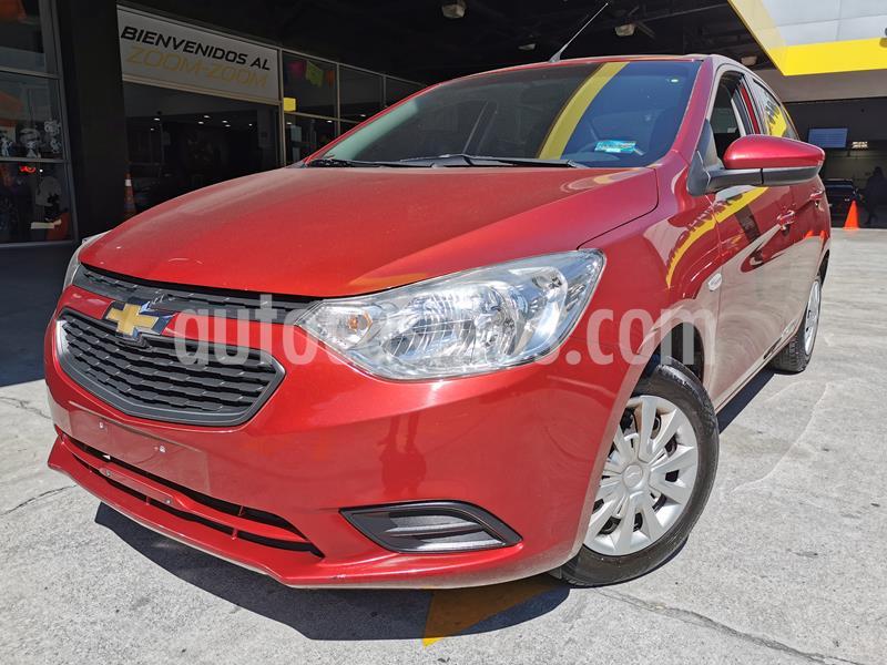Foto Chevrolet Aveo LS usado (2019) color Rojo precio $170,000
