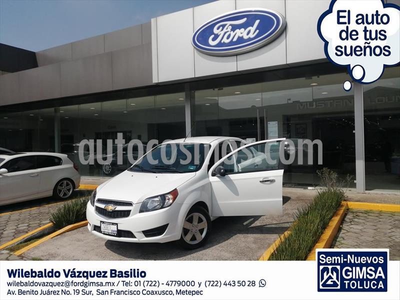 Chevrolet Aveo 4P LT L4/1.6 MAN usado (2017) color Blanco precio $119,000