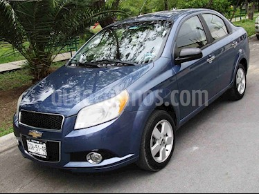 Chevrolet Aveo LTZ usado (2012) color Azul precio $93,000