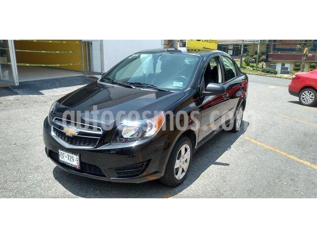 Chevrolet Aveo LS Aa usado (2018) color Negro precio $165,000
