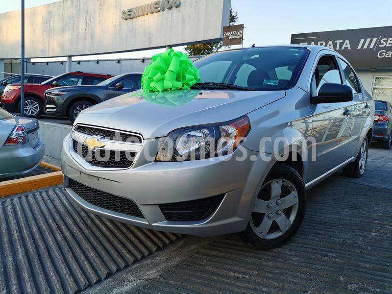 Foto Chevrolet Aveo LS usado (2018) color Plata Brillante precio $140,000