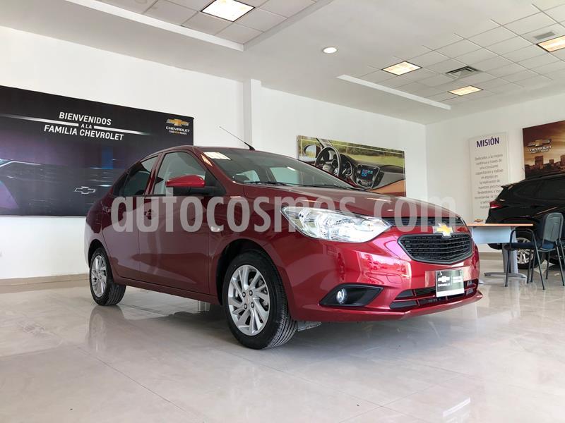 Chevrolet Aveo LT usado (2020) color Rojo precio $230,000