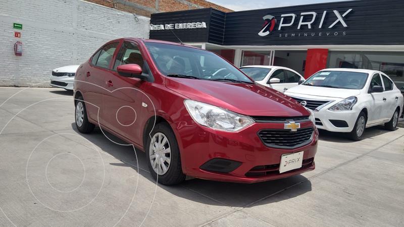Foto Chevrolet Aveo LS usado (2020) color Rojo precio $198,000