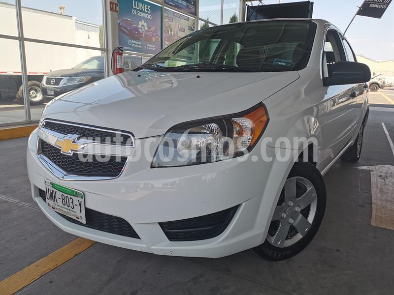 Foto Chevrolet Aveo LS usado (2017) color Blanco precio $155,000