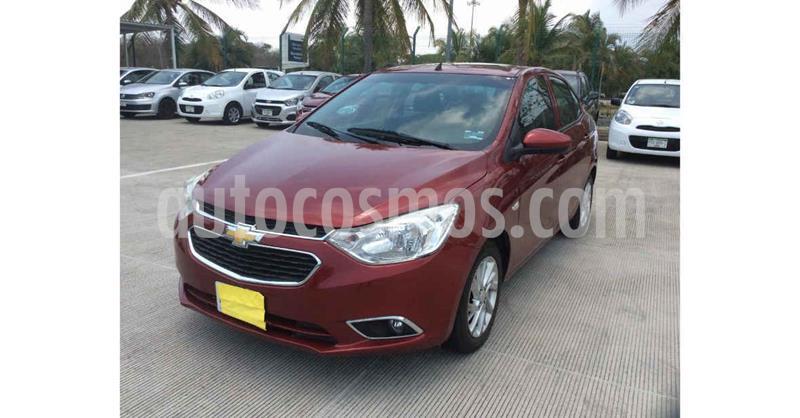 foto Chevrolet Aveo LTZ Aut usado (2018) color Rojo precio $133,900