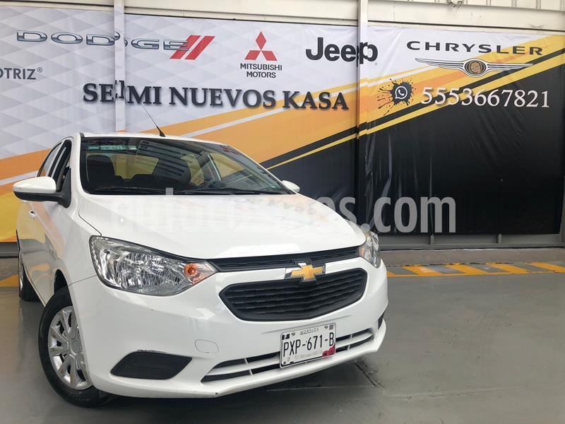 Chevrolet Aveo LS usado (2018) color Blanco precio $145,000