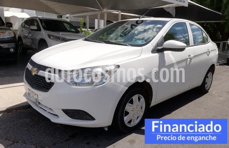 Chevrolet Aveo LS Aut usado (2018) color Blanco precio $37,250