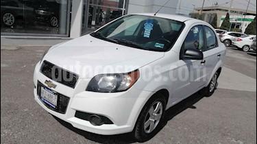 Chevrolet Aveo 4 pts. LS N MT usado (2017) color Blanco precio $117,000