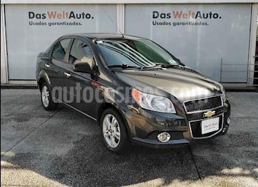 Chevrolet Aveo 4 pts. LTZ E AT usado (2017) color Gris precio $171,990