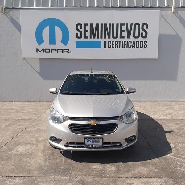 Foto Chevrolet Aveo LT Aut usado (2019) color Plata Dorado precio $178,000