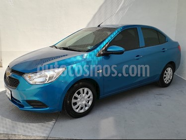 Foto Chevrolet Aveo LS usado (2019) color Azul Acero precio $191,400