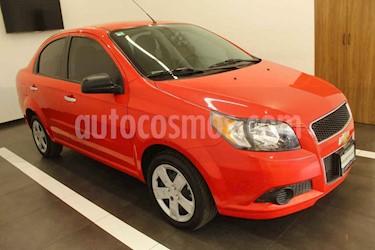 Chevrolet Aveo 4p LT L4/1.6 Aut usado (2017) color Rojo precio $149,000