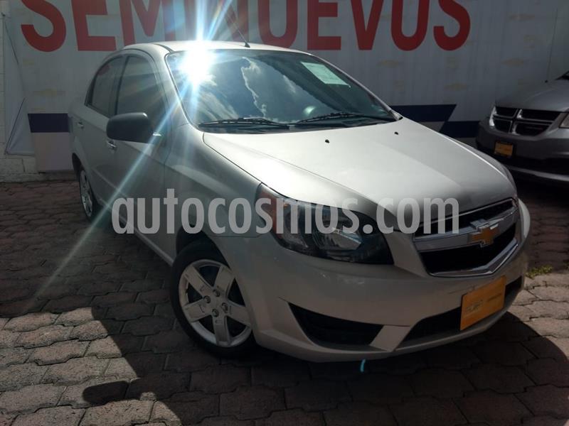 Chevrolet Aveo LT Aut usado (2018) color Plata precio $141,000