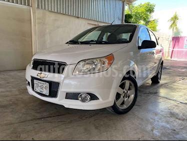Chevrolet Aveo LTZ Aut usado (2012) color Blanco precio $92,000