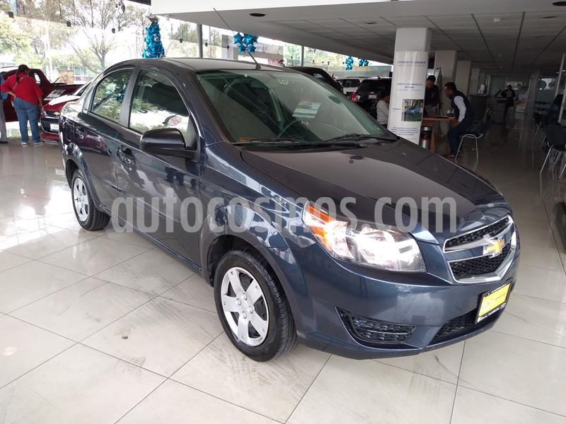 Chevrolet Aveo LS usado (2018) color Azul precio $129,000