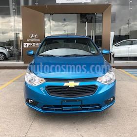 Chevrolet Aveo Paq C usado (2019) color Azul Metalico precio $195,000