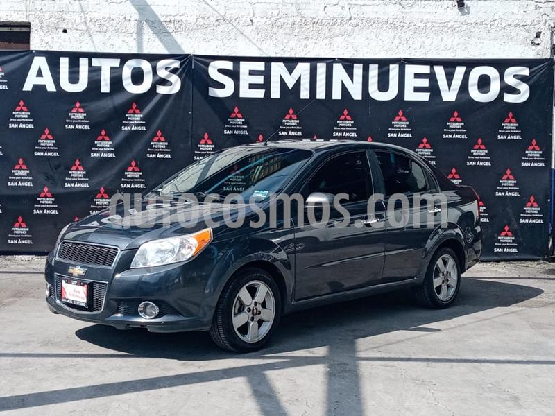 Chevrolet Aveo Paq D usado (2012) color Negro Grafito precio $93,000