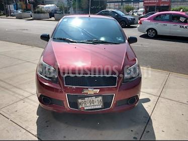 Chevrolet Aveo LT usado (2014) color Rojo precio $115,000