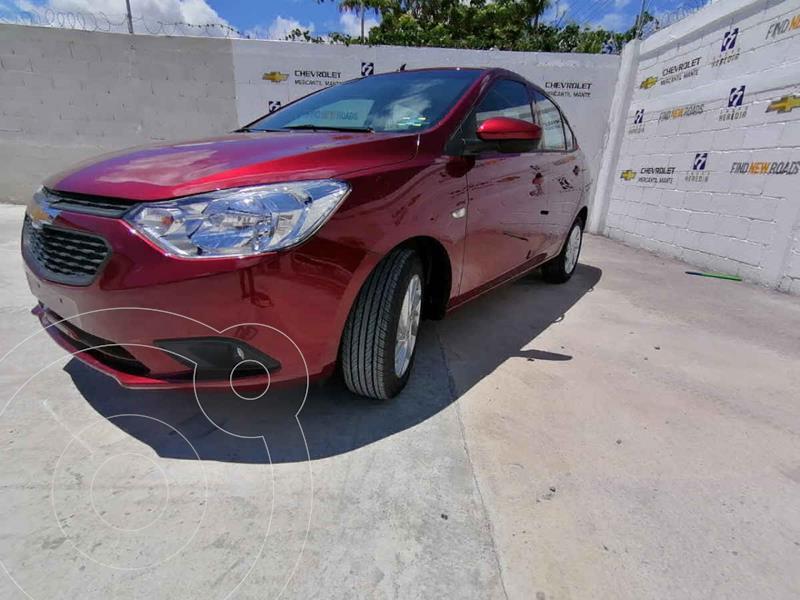 Foto Chevrolet Aveo LT nuevo color Rojo precio $238,900