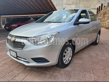 Chevrolet Aveo LT usado (2018) color Plata precio $159,000