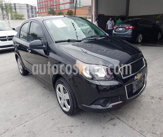 Chevrolet Aveo LT usado (2016) color Negro Grafito precio $153,000