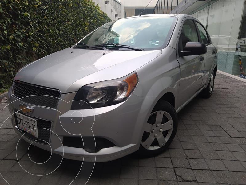 Chevrolet Aveo LS Aa usado (2016) color Plata Dorado precio $120,000