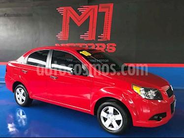 Chevrolet Aveo LS Aut usado (2016) color Rojo precio $119,900