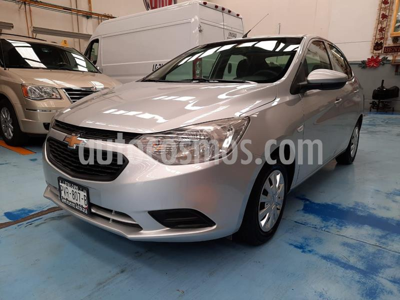 Foto Chevrolet Aveo LS usado (2018) color Plata precio $140,000