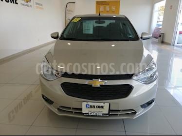 Chevrolet Aveo LT Aut usado (2018) color Naranja precio $180,000