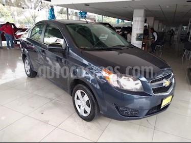 Chevrolet Aveo 4P LS L4/1.6 AUT usado (2018) color Azul precio $130,000