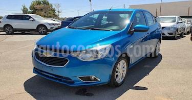 Chevrolet Aveo 4p LTZ L4/1.5 Aut usado (2018) color Azul precio $129,800