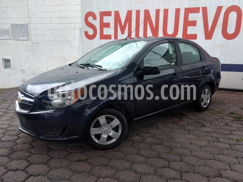 Chevrolet Aveo LS usado (2018) color Azul precio $140,000