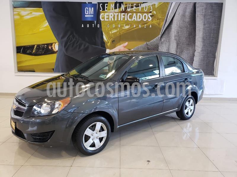 Chevrolet Aveo LS usado (2018) color Gris precio $140,900