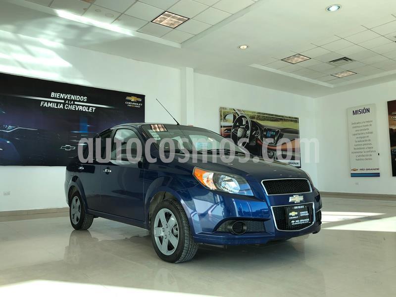 Chevrolet Aveo LS usado (2018) color Azul Marino precio $150,000