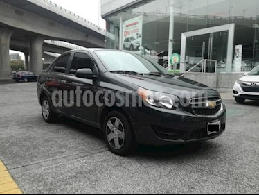 Chevrolet Aveo 4P LS AT A/AC. R-14 usado (2018) color Gris precio $143,000