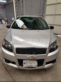 Chevrolet Aveo LS usado (2015) color Plata Brillante precio $94,000