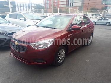 Chevrolet Aveo LS usado (2019) color Rojo precio $160,000