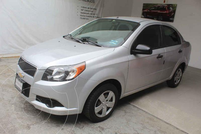 Foto Chevrolet Aveo LS Aa usado (2014) color Plata precio $102,000