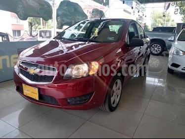 Chevrolet Aveo 4P LT AT A/AC. VE BA ABS R-15 usado (2018) color Rojo precio $150,000