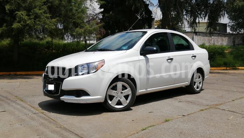 Foto Chevrolet Aveo LT usado (2017) color Blanco precio $130,000
