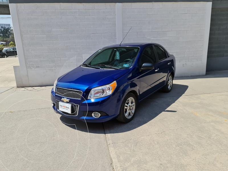Foto Chevrolet Aveo LTZ usado (2017) color Azul Oscuro precio $150,000