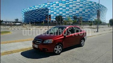 Chevrolet Aveo LT Bolsas de Aire y ABS Aut (Nuevo) usado (2009) color Rojo precio $63,000