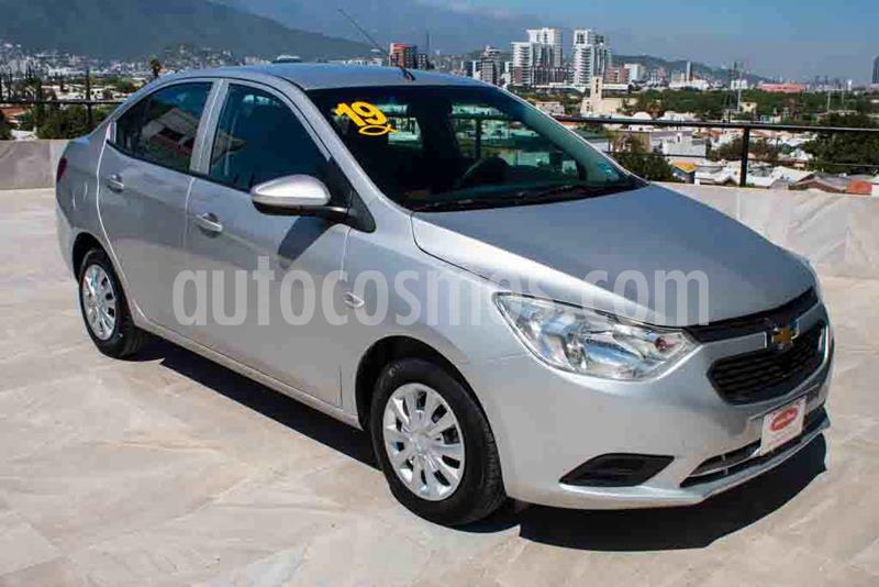 Chevrolet Aveo LT Aut usado (2019) color Plata precio $157,700