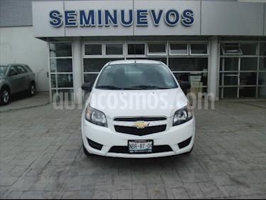 Chevrolet Aveo 4P LS L4/1.6 MAN usado (2017) color Blanco precio $125,000