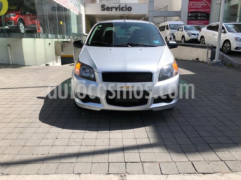 Chevrolet Aveo LT usado (2017) color Plata Brillante precio $135,000